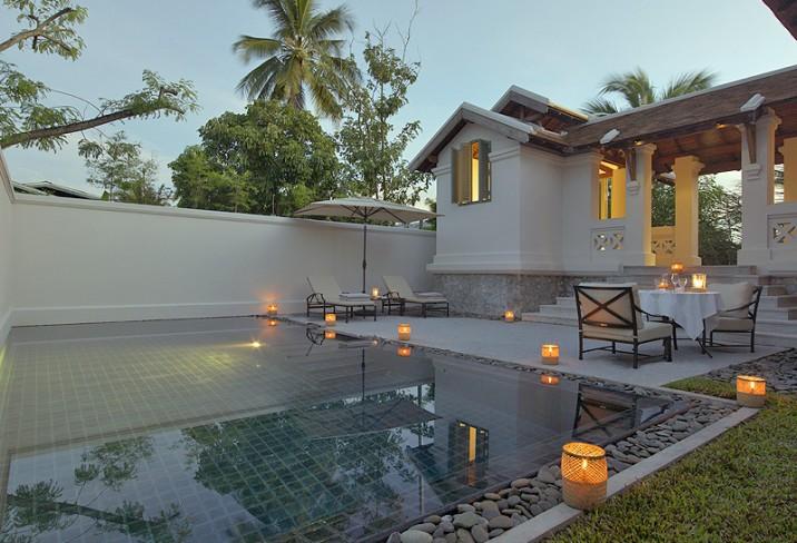 Mr & Mrs Smith - Taka Amantaka Suite pool